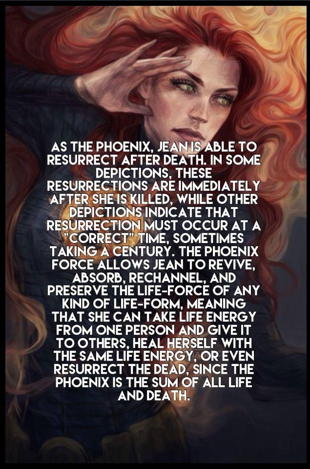 Jean grey. Dark Phoenix facts marvel comics
