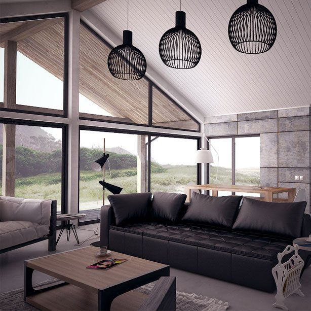 Modern interior design home interior pinterest for Home node b architecture