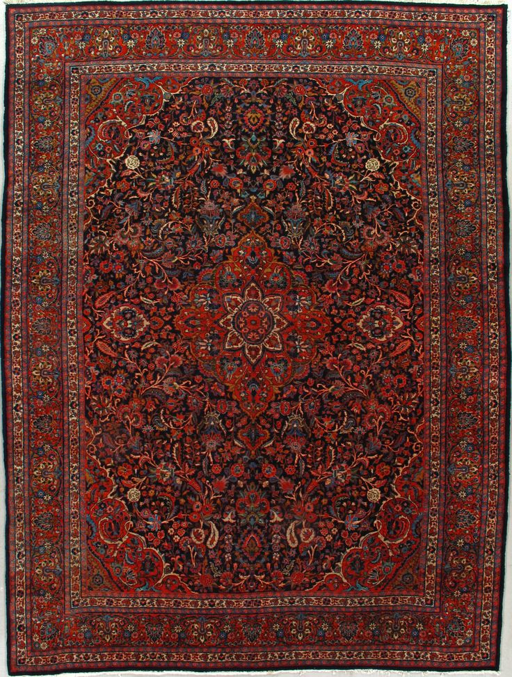 antique kasvin rug u2013 circa sizes 9x12