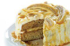 Banánová torta s karamelom!!! :)