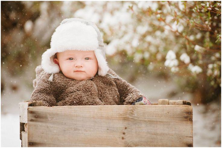 Children's Portrait Photographer, Baby Boy Portraits, Kids Snow Portraits