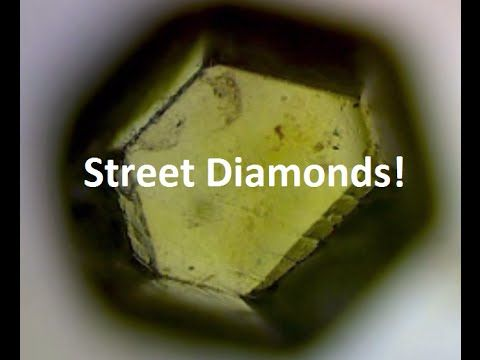 Mining Diamonds From the Street - YouTube