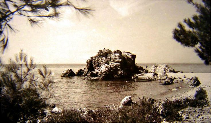 1930lar Burgazada kalpazankaya mevkii