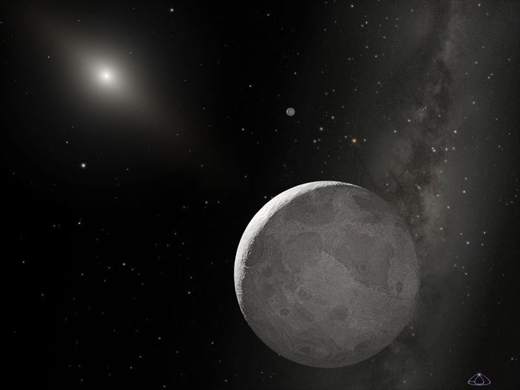 "Eris is the largest dwarf planet in the Solar System, and the ninth largest body orbiting our Sun. Sometimes referred to as the ""tenth planet,"" its discovery is responsible for upsetting the traditional count of nine planets in our Solar System, as well as leading the way to the creation of a new astronomical category."