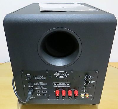 Klipsch Synergy Sub 10 420 Watt Subwoofer 10 Down Firing Speaker Au Shipping Klipsch