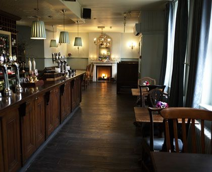 This is the Albion in Islington. I don't want to live in a pub, exactly, but I like this place