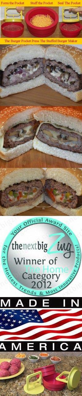 Burger Pocket Press