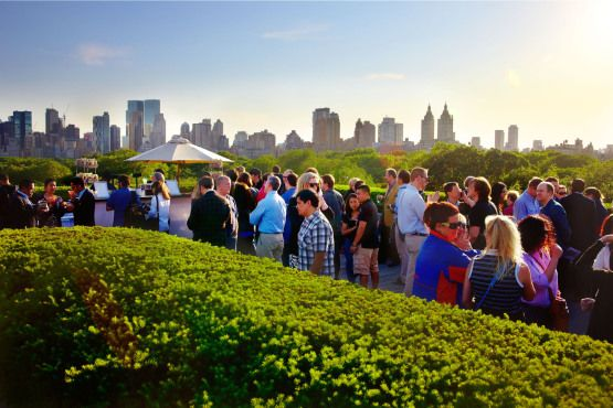 Remember, folks, drinking in New York City parks is illegal—but lucky for you, we have a solution. Head to one of these bars within—or at least very close to—New York City parks, including the Metropolitan Museum of Art's rooftop bar, overlooking Central Park, and an outpost of Terroir on the High Line.