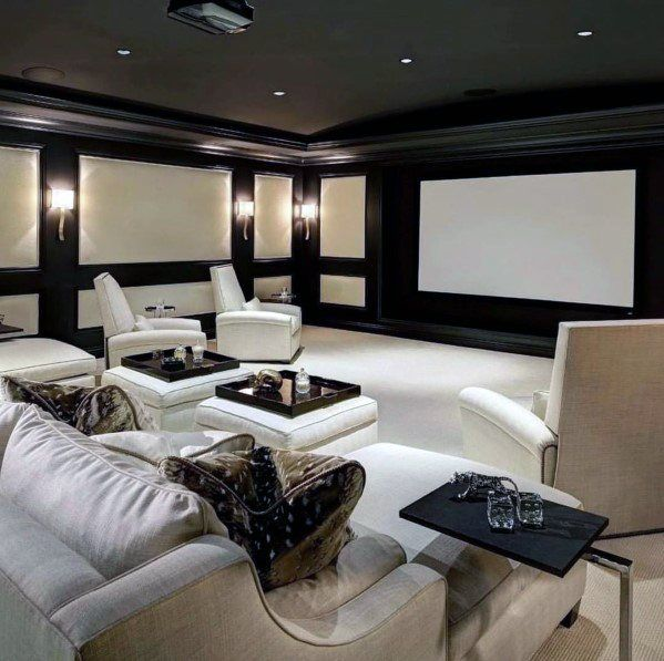 Top 70 Best Home Theater Seating Ideas