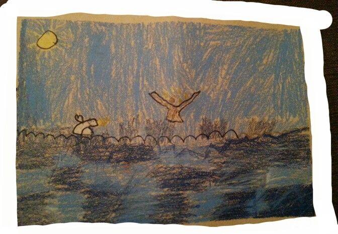 Kalevala, kuvis maailmansynty AHP