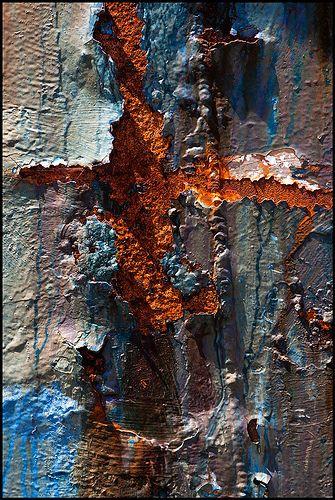 """Cruciform Rust by Junkstock"