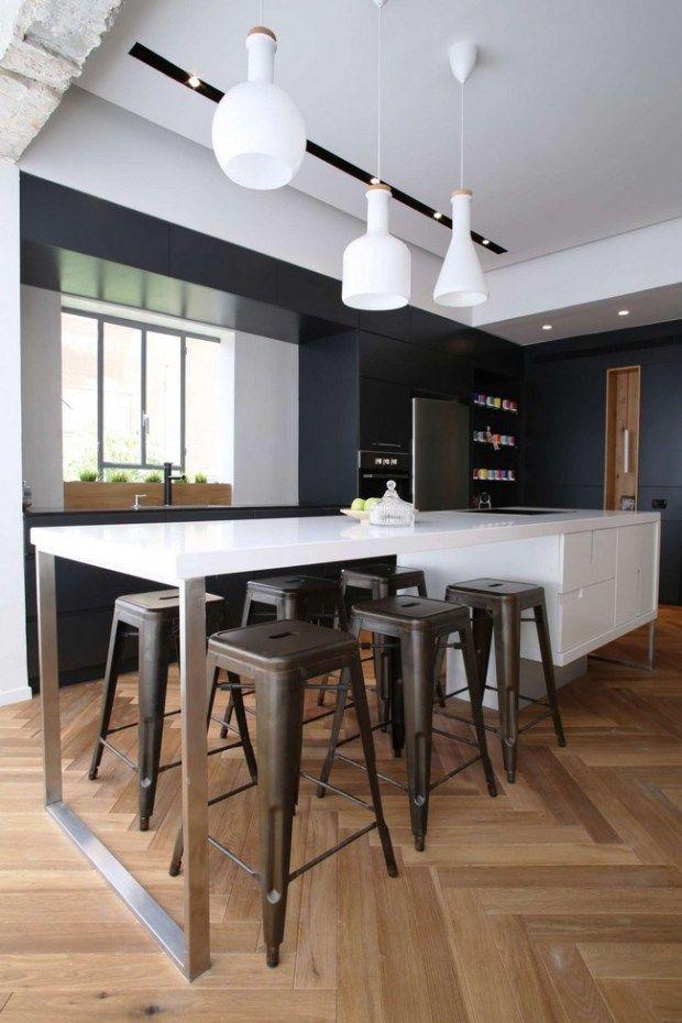 Best Kitchen Island Images On Pinterest Kitchen Islands - Contemporary kitchen with modular work island el_01 by elmar