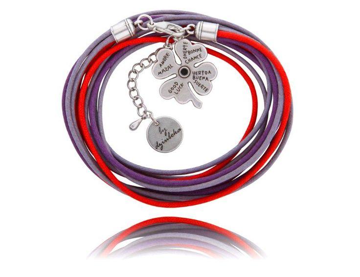 bracelet/bransoletka #ByDziubeka Koniczynka