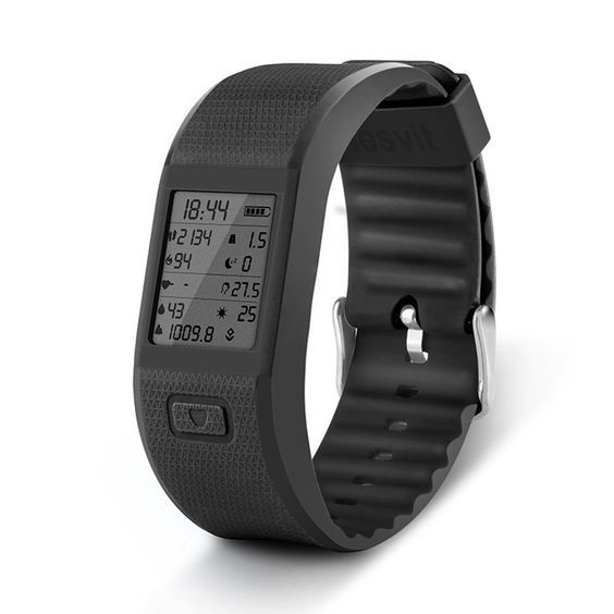 Hesvit Multi Sport Fitness Tracker Wristband Watch for Activity Tracker Bracelet/Fitness Watch Compatible with Android and IOS System (Black) * Review more details here : Fitness Technology