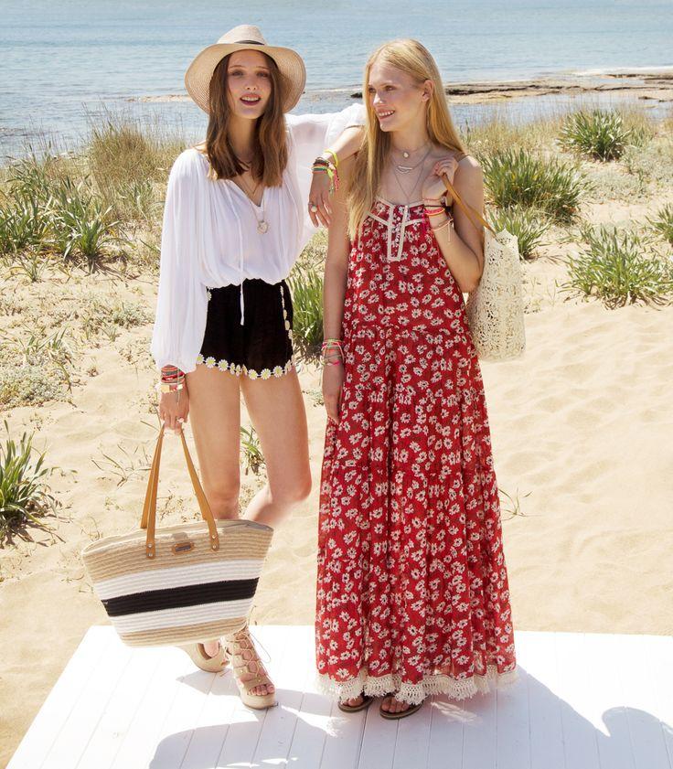 summer look _daisy style _beach _ss16 _long dress