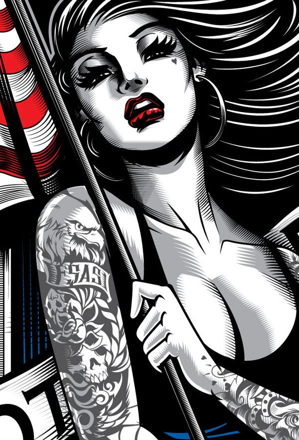 American Beauty FSAS by Dayne Henry Jr, via Behance