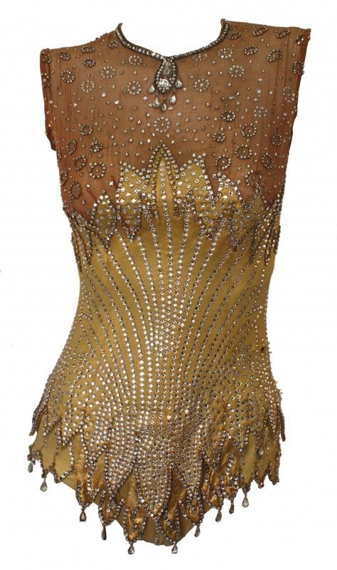 Britney Spears, Circus Showgirl Bodysuit - 2008 - The vintage garment has been used previously by assorted celebrities in numerous productions