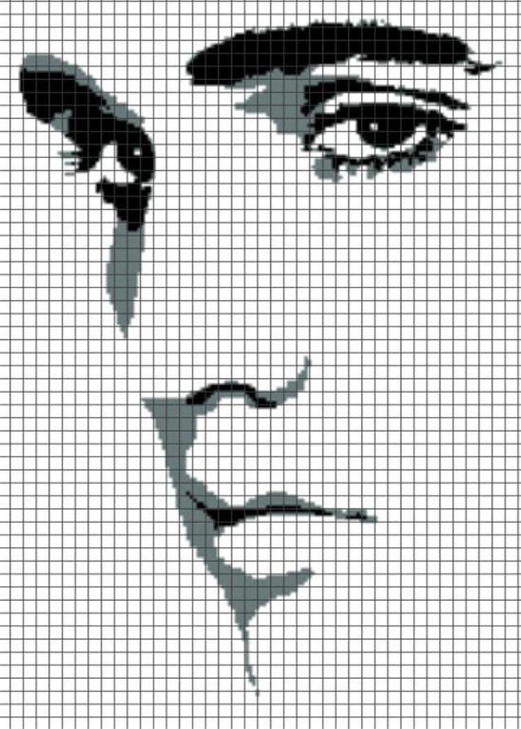 ELVIS Graphghan Pattern | Craftsy