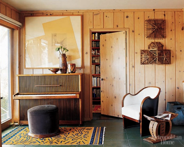 Decorating Ideas For Knotty Pine Living Room  from media-cache-ak0.pinimg.com