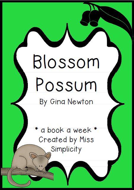 Blossum Possum literacy resources