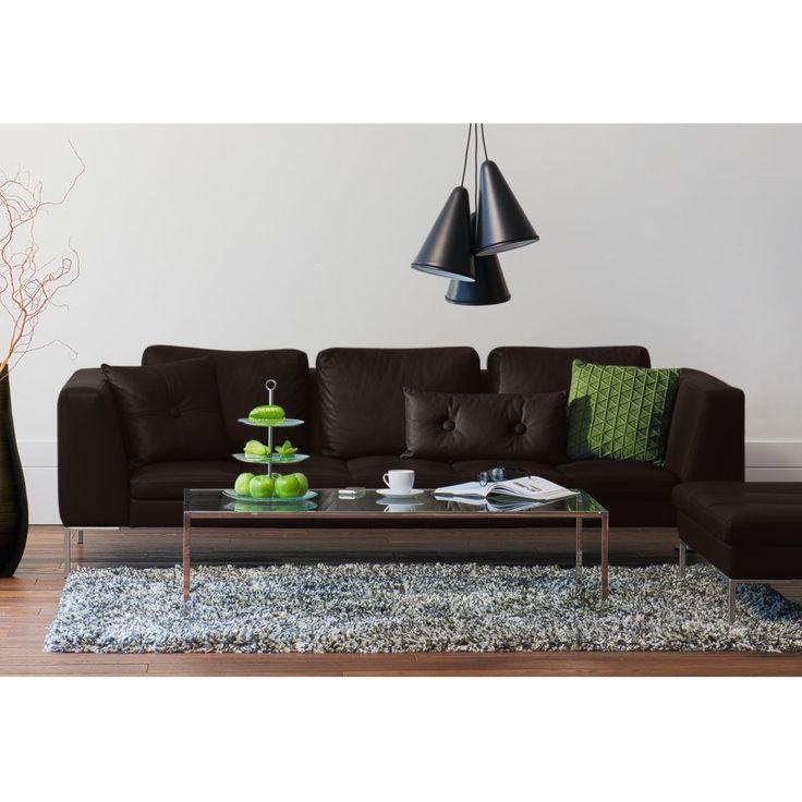 Sofa Madison (3-Sitzer) Echtleder | Sofa mit relaxfunktion ...