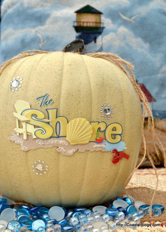 It's almost Fall Y'all -  20 Coastal Pumpkin Ideas for the Beach House