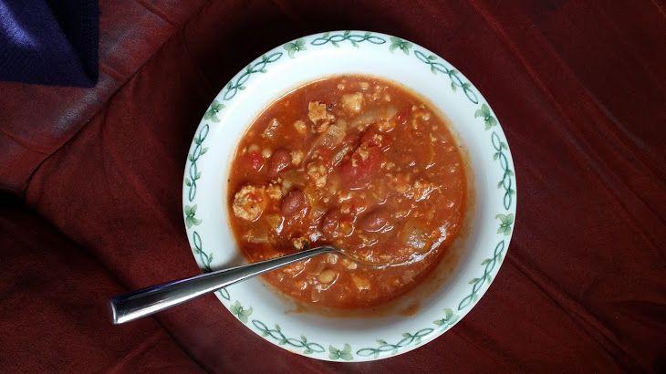 Chile-Tomato Soup With Cumin And Cinnamon Recipe — Dishmaps