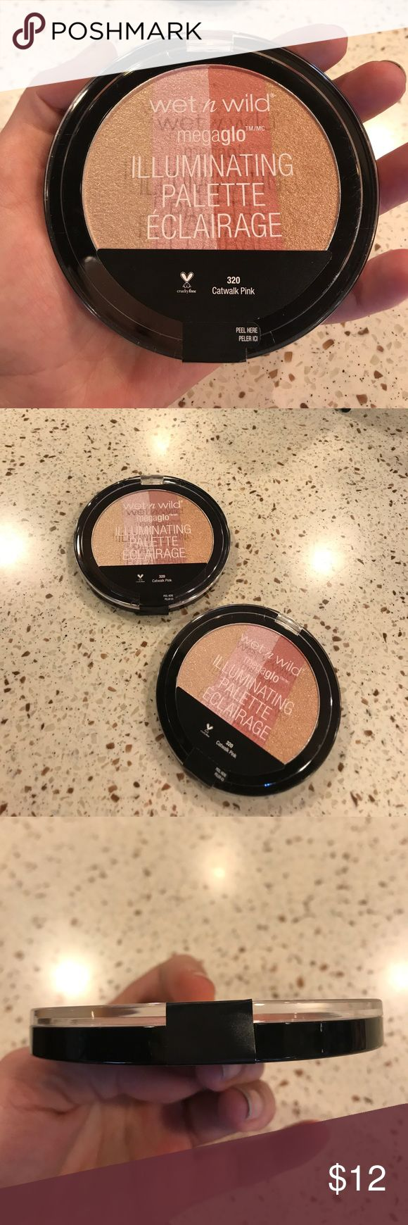 Wet n' Wild Jeffree ⭐️APPROVED!! Hi light THE ONE!!!  I saw these FINALLY in stock at my local good store and bought all 3 left for y'all!!  These are featured in Jeffree ⭐️'s YouTube videos and he raves about them.  Size is huge so you get a giant amount of product, look at pic, it's a very large pan because *shocker* it is made in the SAME FACTORY AS THE JEFFREE ⭐️ LINE?!?!  MMMKAAAY...  honey, grab yours because these ain't never in stock!!!;) Also I heard the new Eclipse highlight sucked…