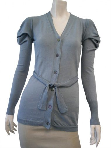DELPHINE WILSON 100% cotton Cardigan at EUR 118.00 from dressspace.com