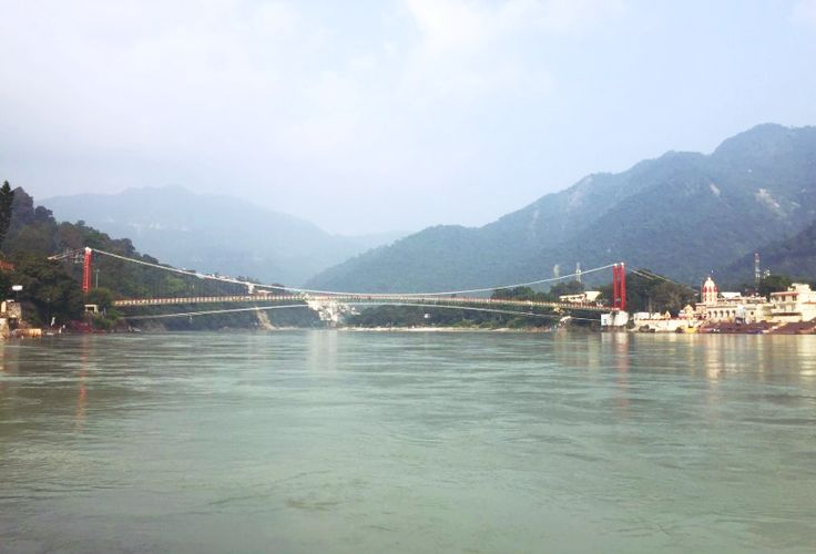 #Ram_Jhula is one of two most famous tourist areas in #Rishikesh (another is #Lakshman_Jhula). Most of the famous ashrams are located very close to the Ram Jhula. Sivananda Ashram, #Parmarth_Niketan, #Gita_Bhawan, Swargashram, Omkarnanda, Yog Niketan and many others are located near the Ram Jhula.