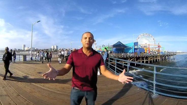 360° - Veja todos os ângulos do Pier de Santa Mônica