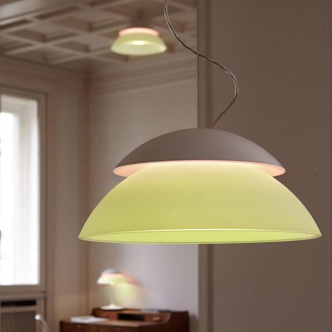 Philips Hue Beyond Pendelleuchte Pendelleuchten Leuchten Man Nehme Die Vorzuge Einer Kabellosen Lampe Kombiniere Sie Mi Pendelleuchte Lichtquelle Design