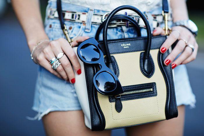 celine nano handbag