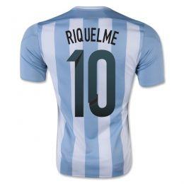 2015 Argentina Soccer Team Home Riquelme #10 Replica Jersey 2015 Argentina Soccer Team Home Riquelme #10 Soccer jerseys|cheap Agentina football jerseys sale