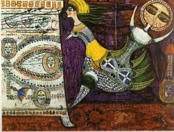Max Walter Svanberg Women-minotaurs 1957