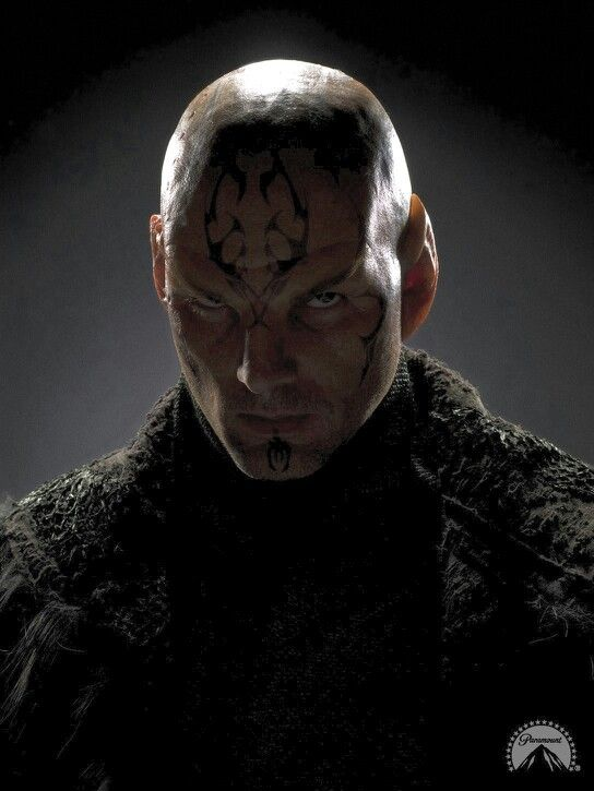 Eric Bana as Nero: There are no appropriate words. (Star Trek 09)