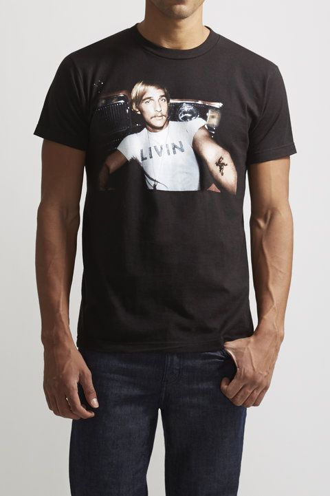 David Wooderson Tee - The - Graphic Tees : JackThreads