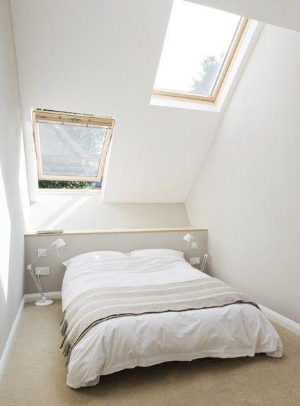 Idee voor een kleine slaapkamer