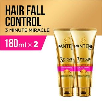 Shop Online Pantene Conditioner 3 Minutes Miracle Quantum Hair Fall Control 180ml - PACK OF 2Kualitas memuaskan Pantene Conditioner 3 Minutes Miracle Quantum Hair Fall Control 180ml - PACK OF 2 BELI SEKARANG PA780HBAAMYLDRANID-49588406 Health & Beauty Hair Care Shampoo Pantene Pantene Conditioner 3 Minutes Miracle Quantum Hair Fall Control 180ml - PACK OF 2