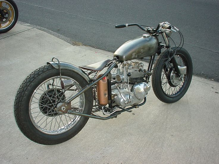 Google Image Result for http://www.joesignshop.com/vintage_motorcycle_bbq_005.jpg    What a sweet bike.