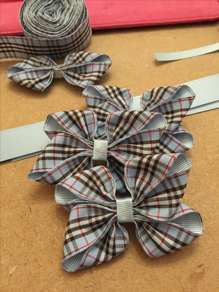 Tartan bows for girls - www.dreambows.co.uk making hair bows, handmade hair accessories, girls bows uk, uk hair bows for sale