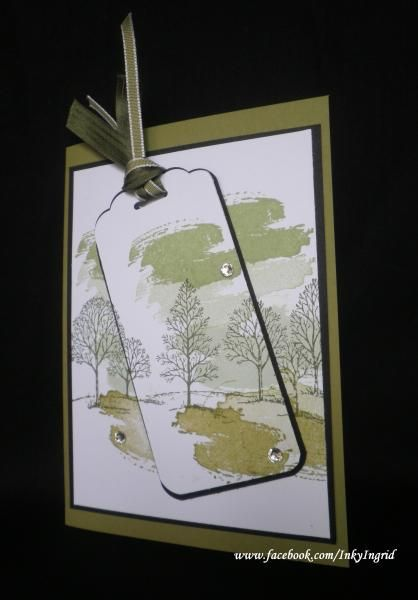 Male card using Work of Art by Ingrid (QLD Australia ) Stampin' Up!