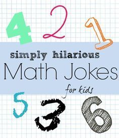 "These funny math jokes for kids will quickly become favorites around the math loving crowd! Do you know how to make one vanish? Add a ""g"" and it's gone..."