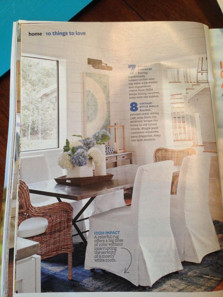 Ikea Chairs Via Bhg Magazine Diy Dining Room Furniture