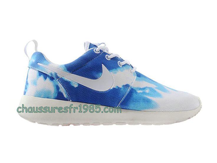 cdiscount roshe run - Nike Roshe Run GS Chaussures Pas Cher Pour Femme Bleu Blanc 511882 ...