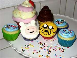 Adventure Time cupcakes!