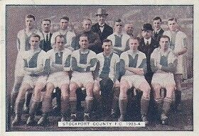Stockport County team group in 1923-24.