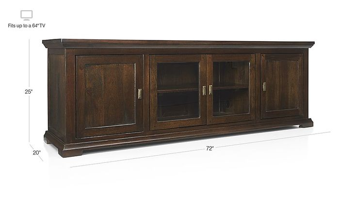 """Crowne 72"""" Media Console 
