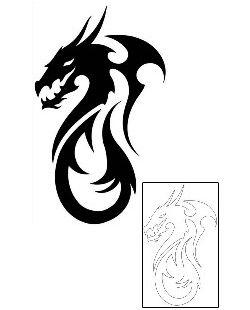 17 best ideas about tribal dragon tattoos on pinterest