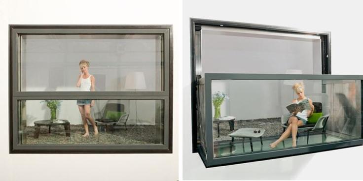 Her er det mest spesielle vinduet du har sett.